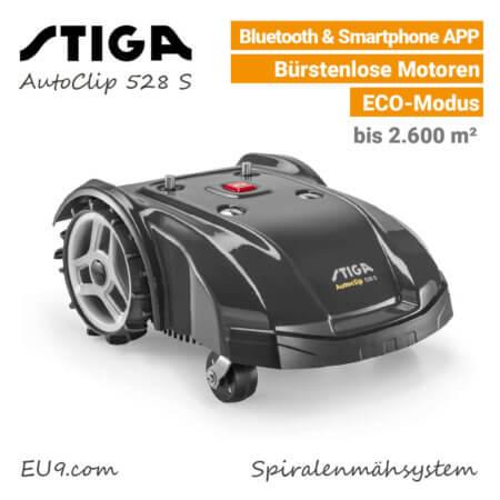 Stiga AutoClip 528 S Mähwerk Mähroboter EU9