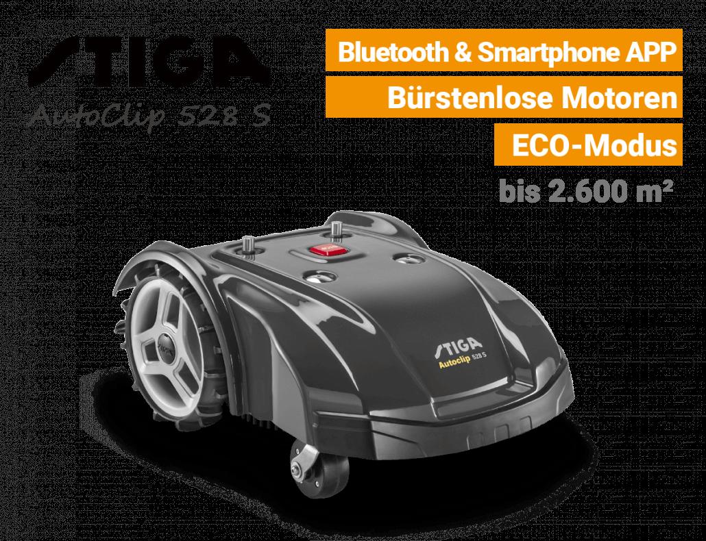 Stiga AutoClip 528 S Mähnroboter