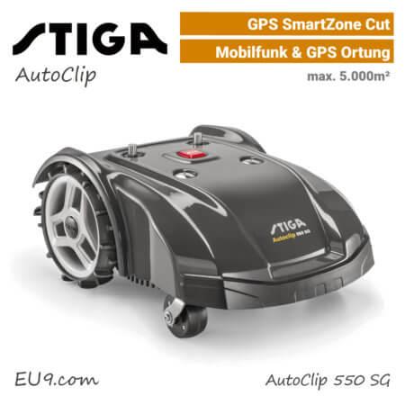 Stiga AutoClip 550 SG GPS Mähroboter-Rasenroboter EU9