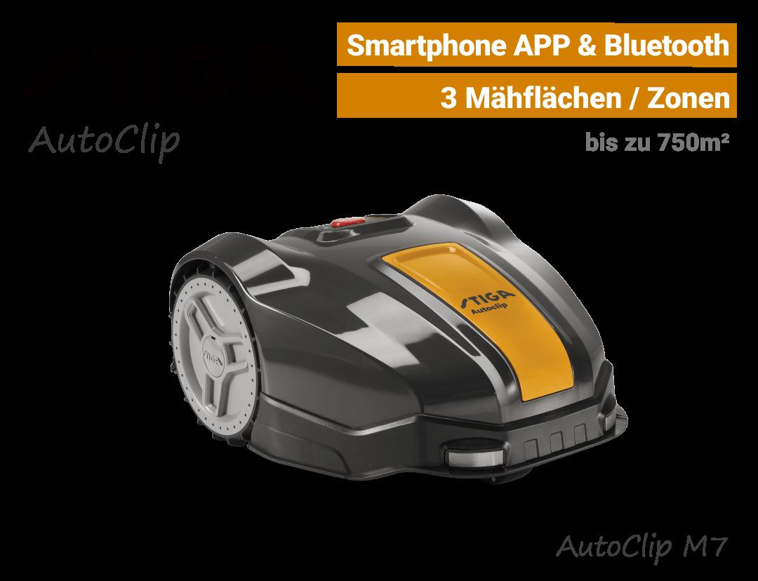 Stiga AutoClip M7 Mähroboter-Rasenroboter EU9