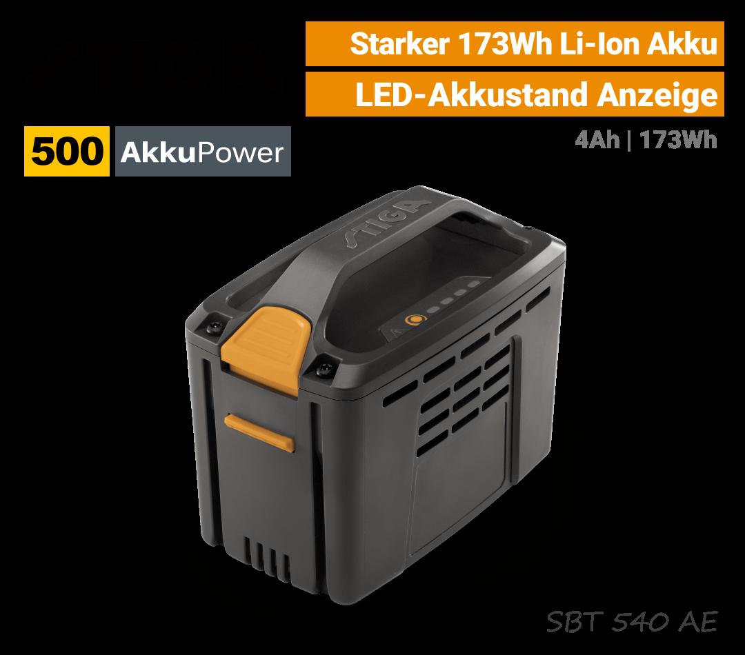Stiga SBT-540 Akku 4Ah 500-Serie EU9