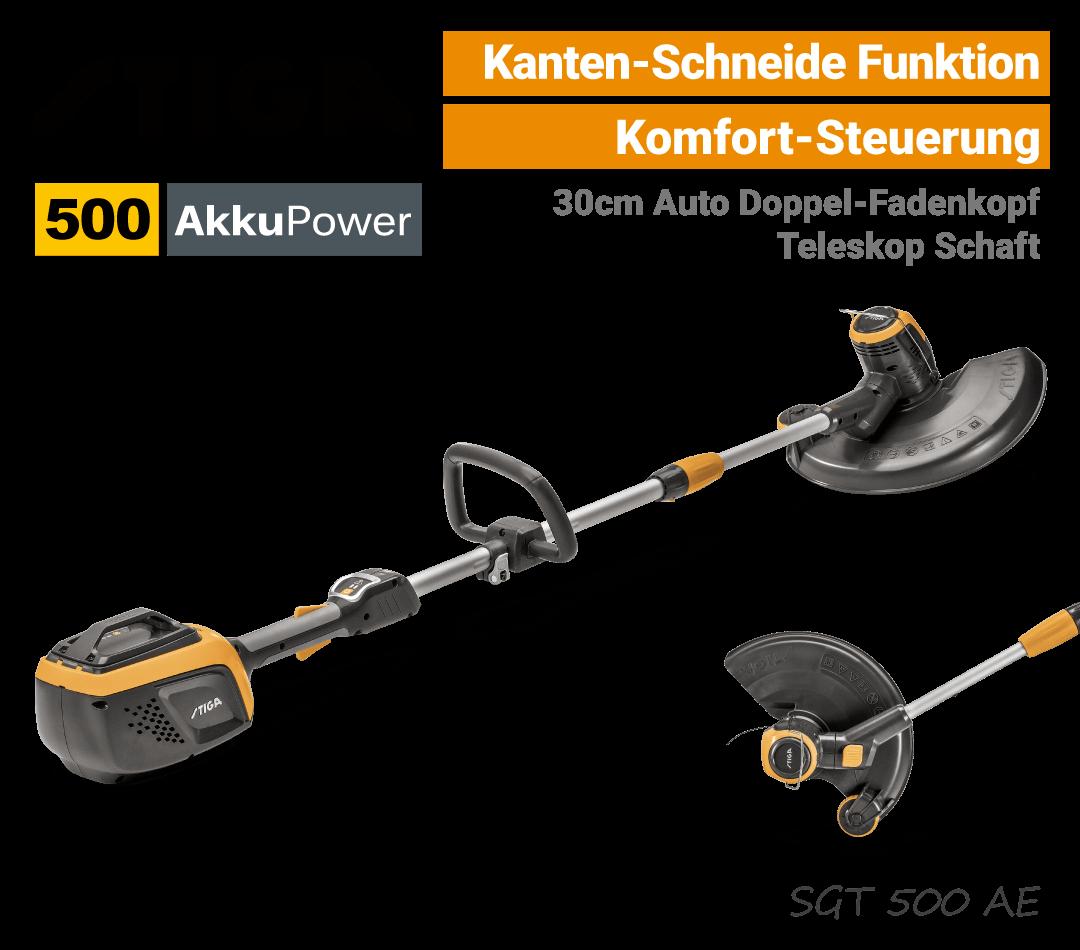 Stiga SGT 500 AE Akku-Trimmer EU9
