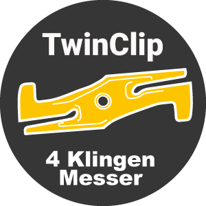 Stiga TwinClip Messer-System