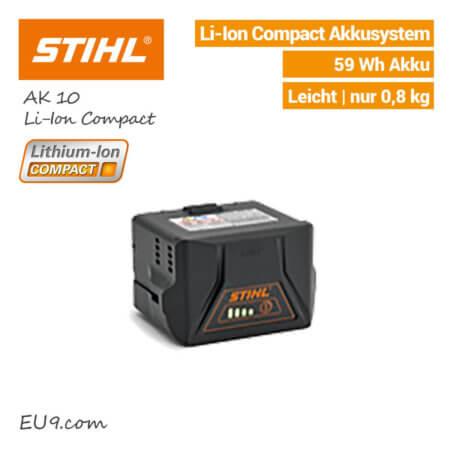 STIHL AK-10 Akku Lithium-Ion Compact 59Wh