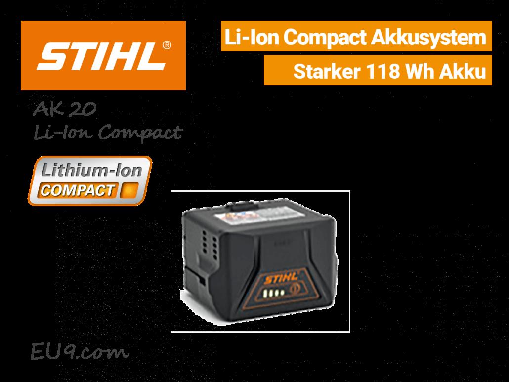 Stihl AK-20 Akku Lithium-Ion Compact EU9