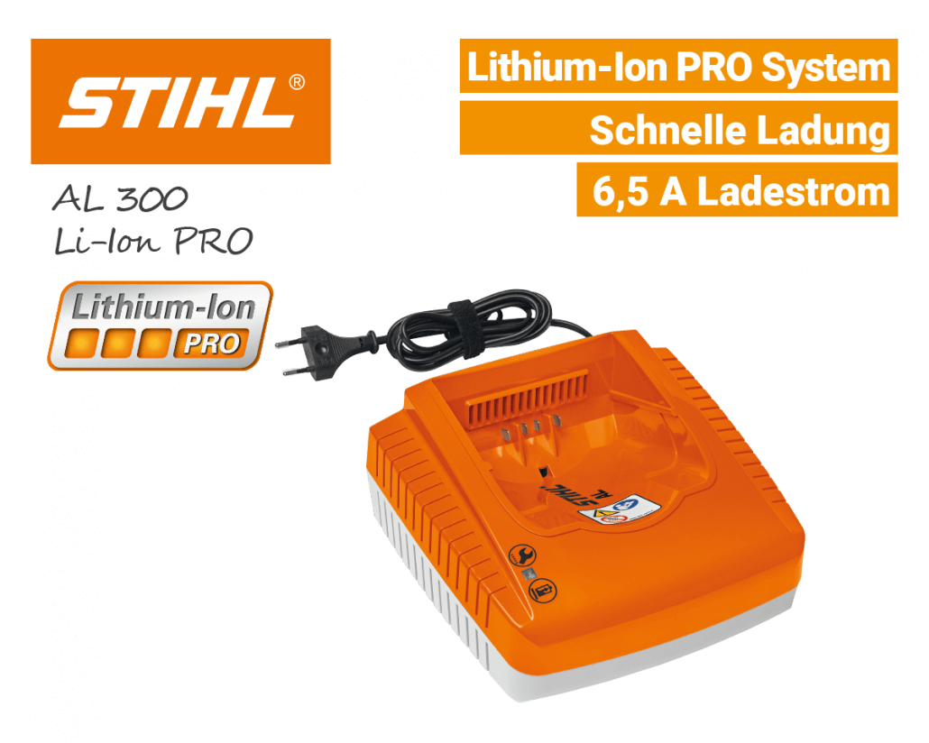 Stihl AL-300 Schnell-Ladegerät Lithium-Ion PRO EU9