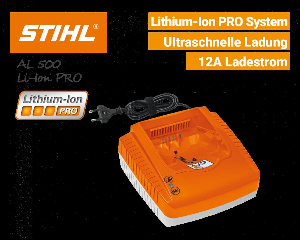 Stihl AL-500 Schnell-Ladegerät Lithium-Ion PRO EU9