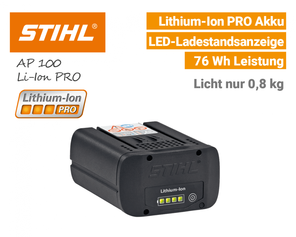 Stihl AP-100 Akku Lithium-Ion PRO EU9