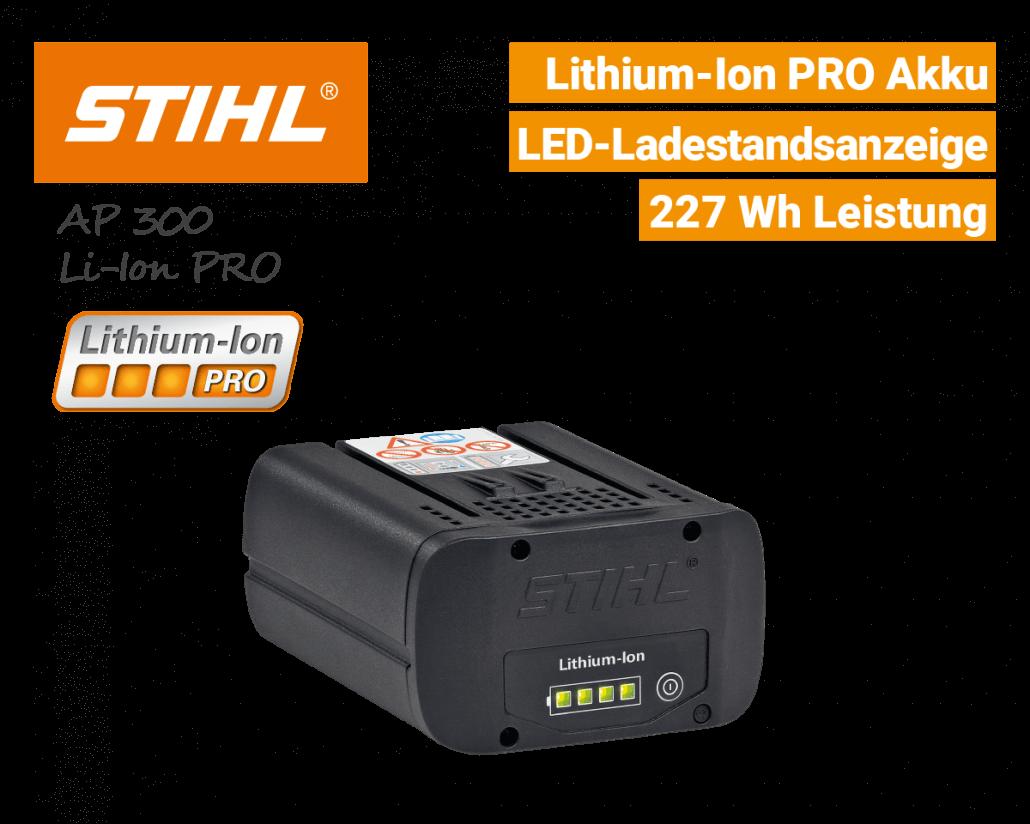 Stihl AP-300 Akku Lithium-Ion PRO EU9