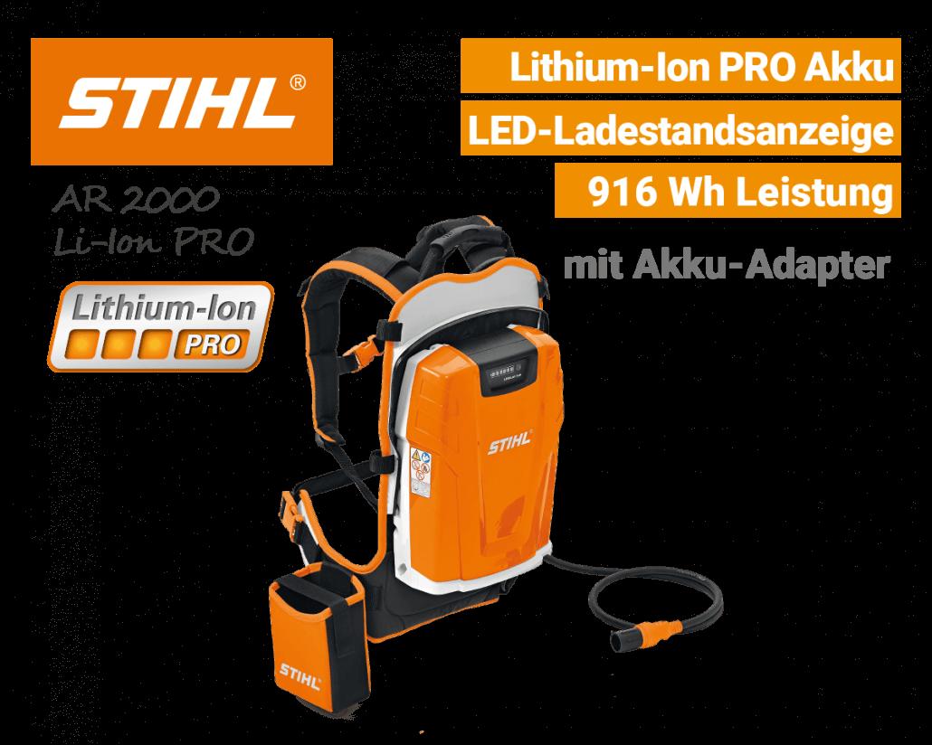 Stihl AR-2000 Akku Lithium-Ion PRO EU9