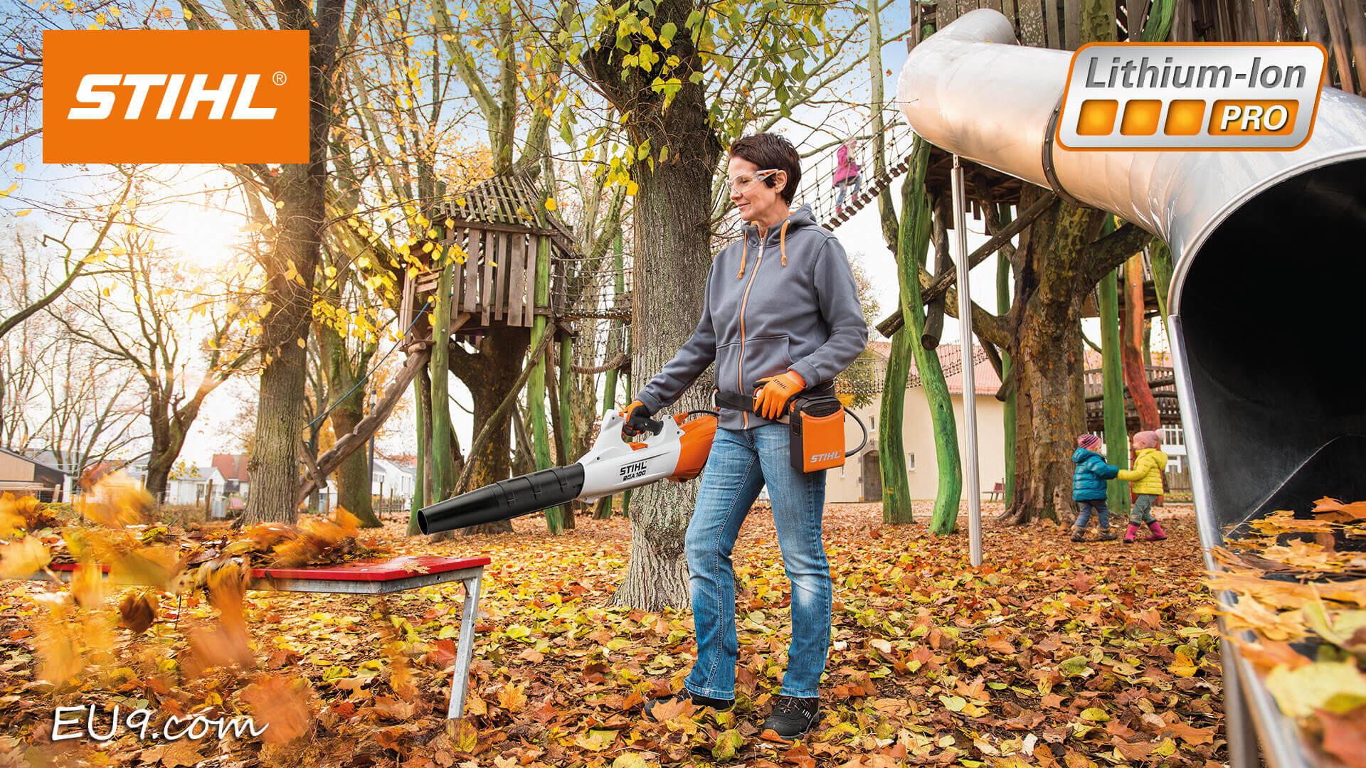 stihl akku g rteltasche mit oranger anschlussleitung a adapter ap. Black Bedroom Furniture Sets. Home Design Ideas