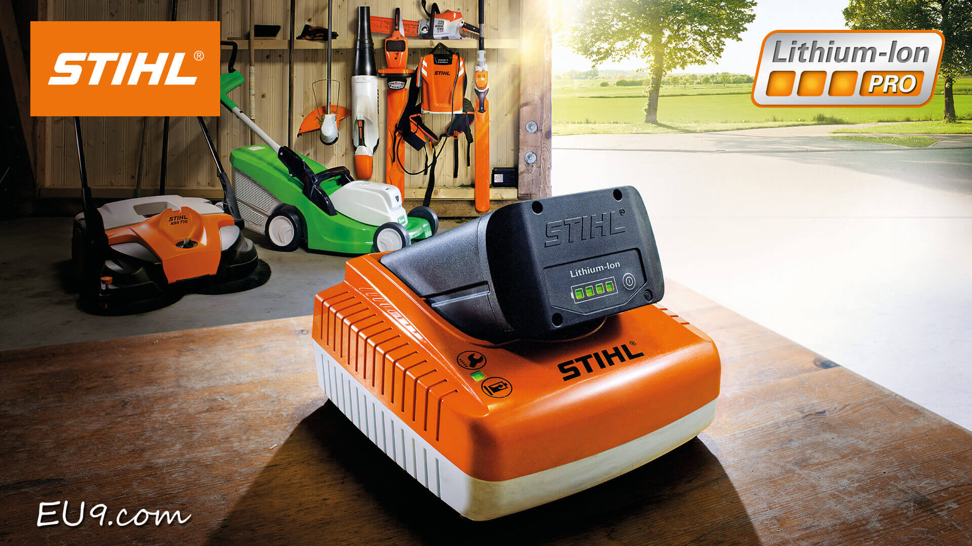 stihl ap 200 lithium ion pro akku. Black Bedroom Furniture Sets. Home Design Ideas