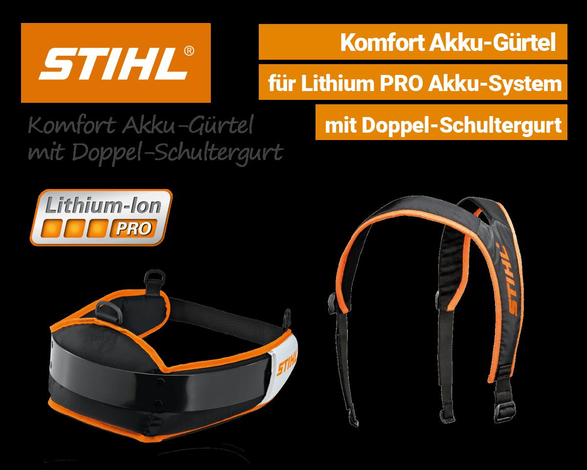 Stihl Akku-Gürtel mit Schultergurt Li-Ion Pro EU9