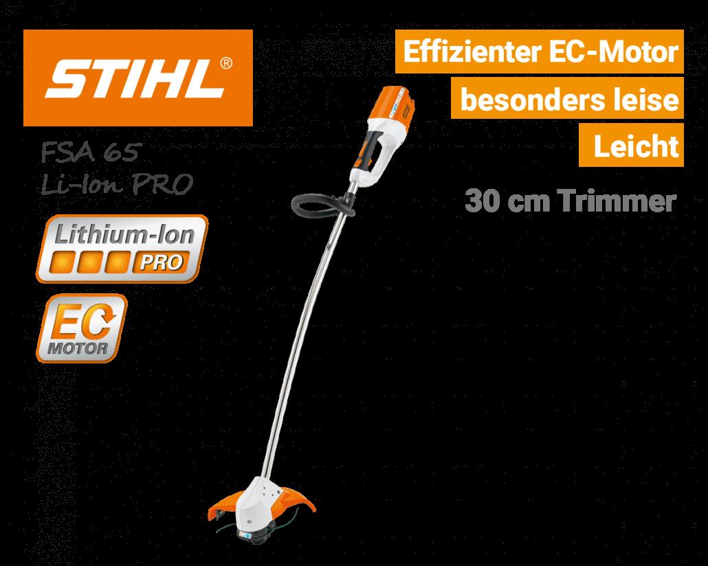 Stihl FSA 65 Akku-Trimmer Li-Ion PRO - EU9