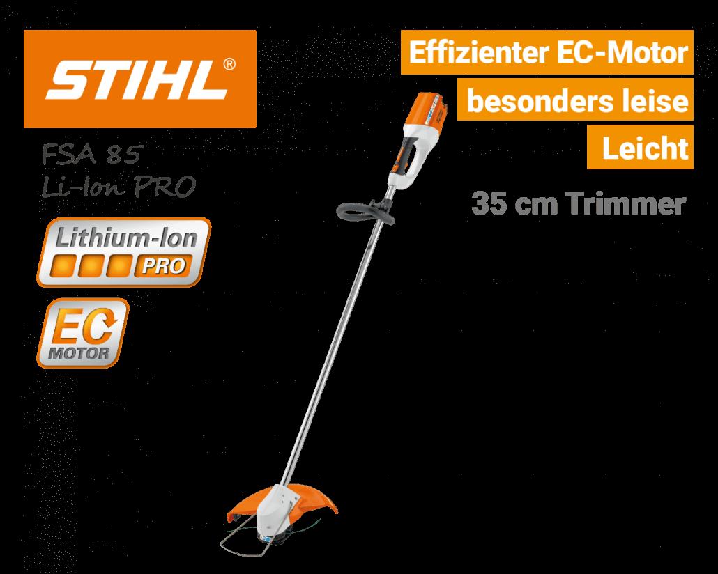 Stihl FSA 85 Akku-Trimmer Li-Ion PRO - EU9