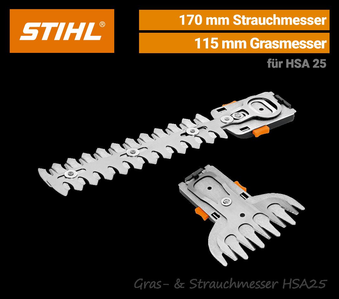 Stihl Grasmesser-Strauchmesser HSA 25 EU9