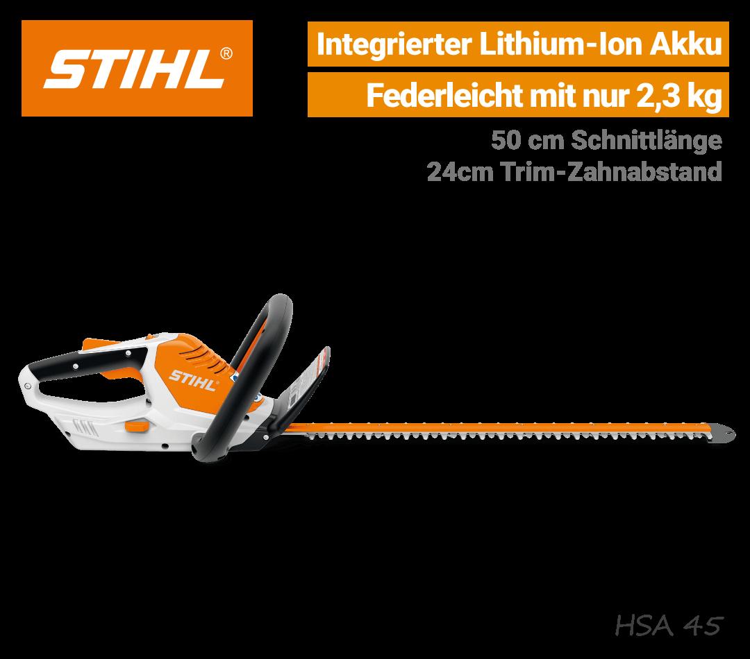 Stihl HSA 45 Akku-Heckenschere EU9
