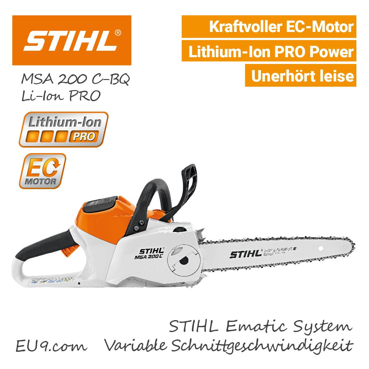 stihl msa 200 c bq kettens ge li ion pro jetzt g nstig kaufen. Black Bedroom Furniture Sets. Home Design Ideas