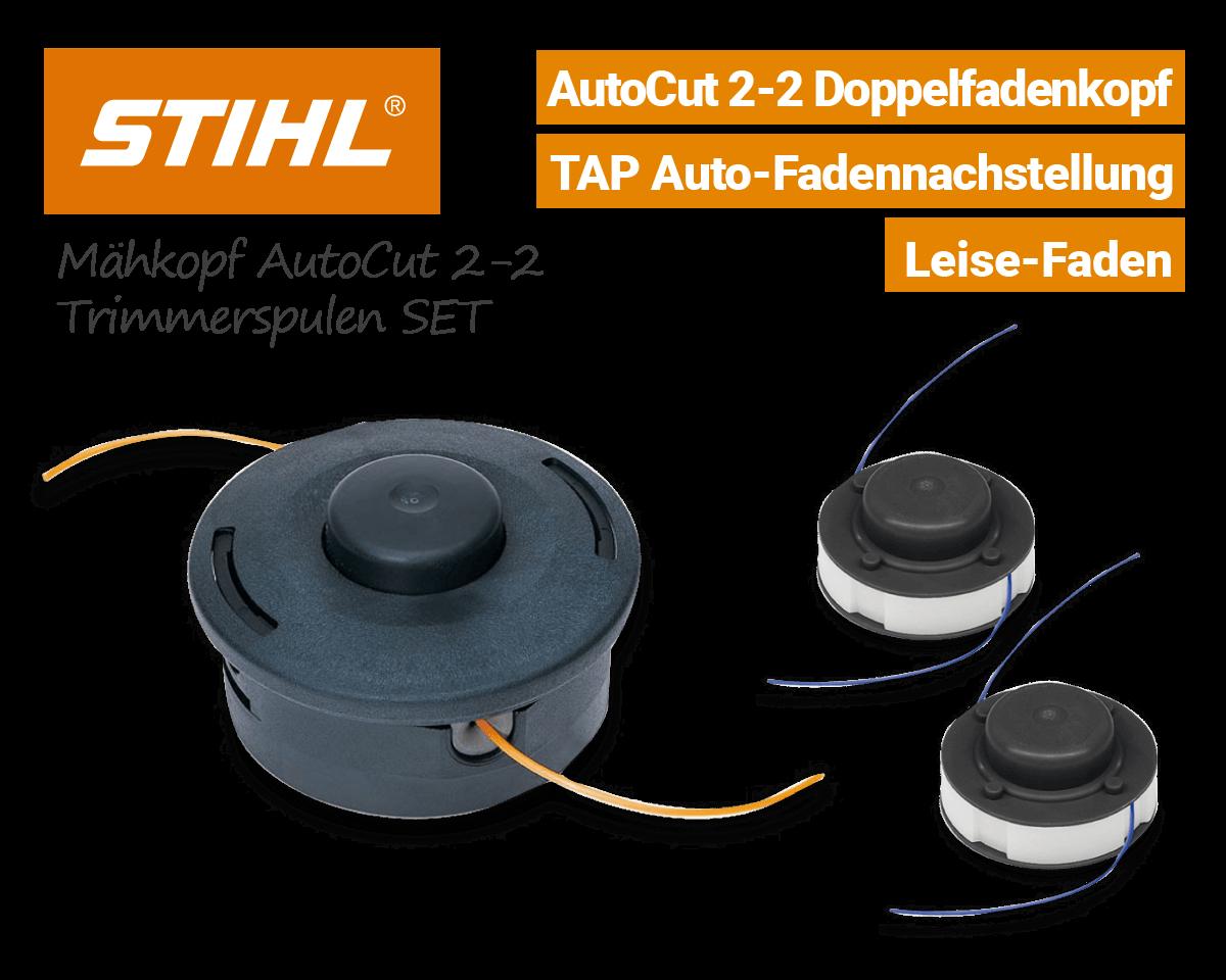 Stihl Mähkopf AutoCut 2-2 Fadenspule Doppelfaden-Kopf EU9