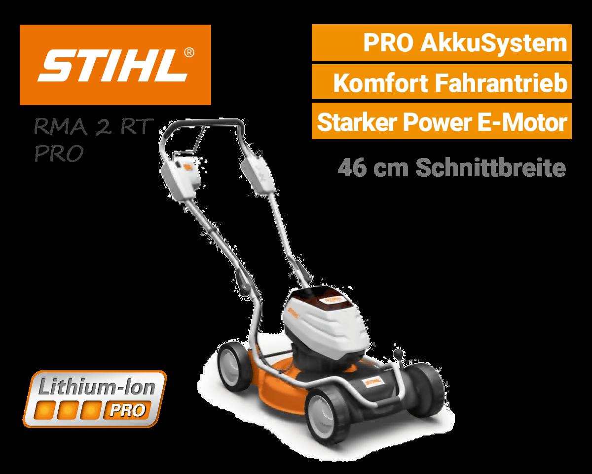 Stihl RMA 2 RT Akku Mulchmäher PRO AkkuSystem EU9