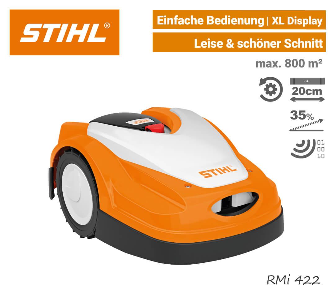 Stihl RMi 422 Mähroboter-Rasenroboter EU9