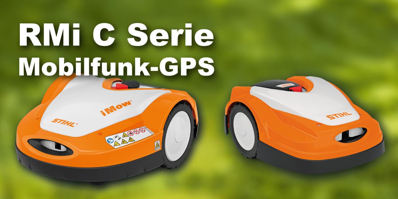 Stihl RMi 632 C PC RMi 422PC Rasenroboter GPS Mobilfunk EU9