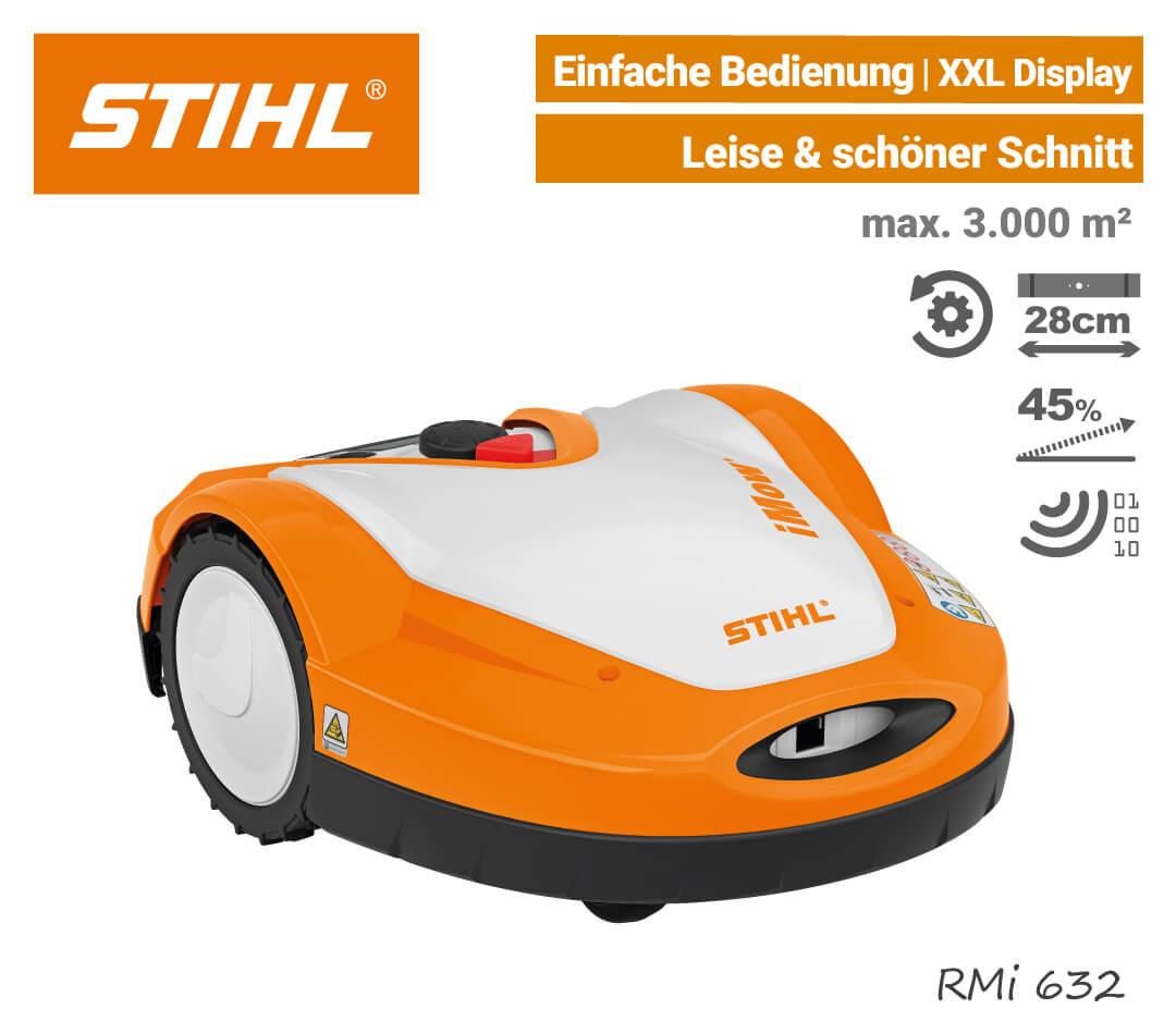 Stihl RMi 632 Mähroboter-Rasenroboter EU9