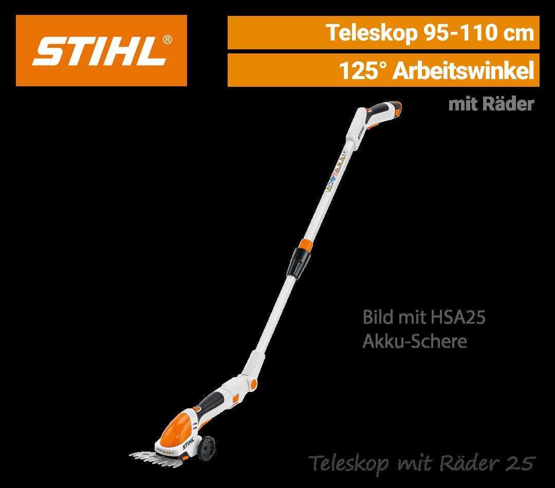 Stihl Teleskop mit Räder HSA-25 EU9