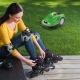 Stihl Viking MI 422 iMow Rasenroboter Frau mit Rollschuhe