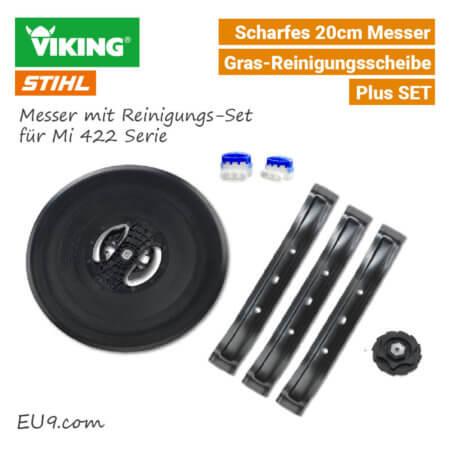 Stihl Viking Messer Gras-Reinigungsscheibe iMow Mi 422 SET Plus EU9
