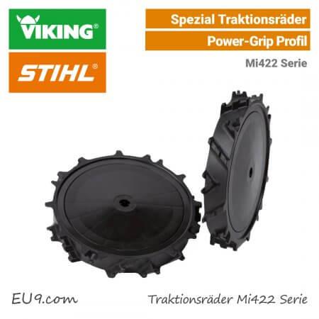 Stihl-Viking Traktions-Räder ART-220 Grip-Räder Mi422 EU9