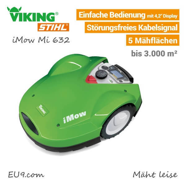 Stihl Viking iMow Mi632 Rasenroboter