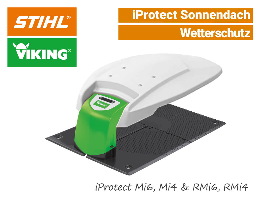 Stihl Viking iProtect AIP-601 Garage Sonnen-Dach RMi Mi EU9