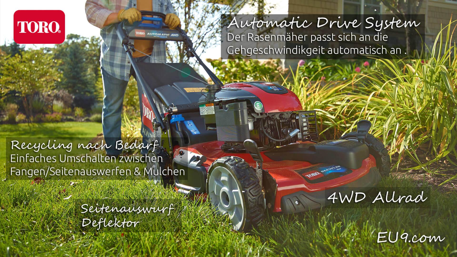 toro 20960 allrad automatic drive benzin-rasenmäher - eu9
