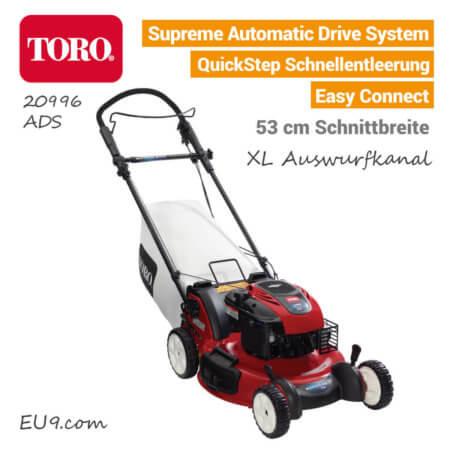TORO 20996 Benzin-Rasenmäher Automatic-Drive-System