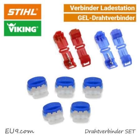 Viking Stihl Kabelanschluss-Klemme Ladestation-Verbinder AKS-010 AKS-011 EU9