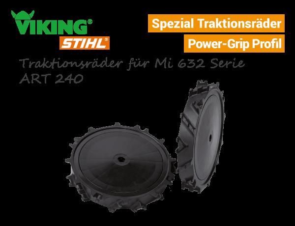 Viking Traktionsräder ART-240 Mi 632 Serie iMow 6909-700-0410