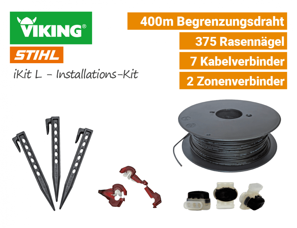 Viking iKit L - Installations-Kit - Verlegezubehör - Large - EU9
