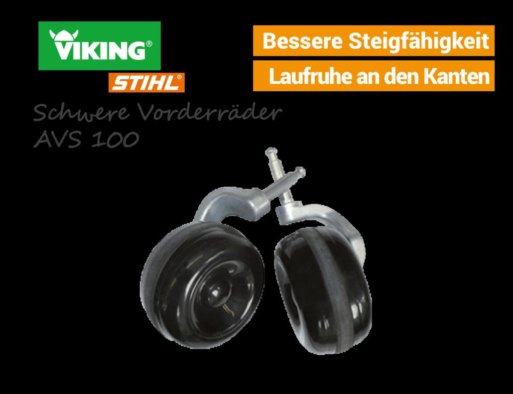 Viking schwere Vorderräder AVS-100 6909-007-1006