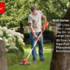 Wolf 72V Li-Ion Power 30 T Akku-Trimmer Garten