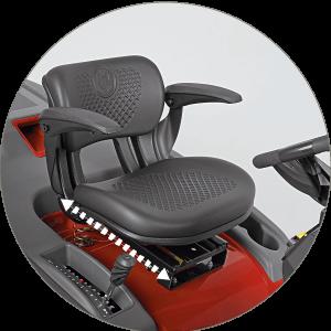 Wolf Alpha Premium Ergo Sitz mit Armlehnen Low-High System EU9
