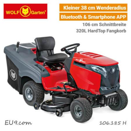 Wolf-Garten Alpha 106.185 H Bluetooth Expert Rasentraktor EU9