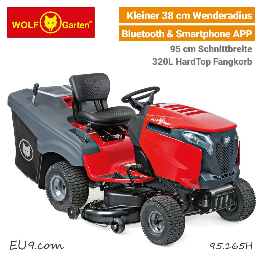 Wolf-Garten Alpha 95.165 H Rasentraktor | Neu ab 2017
