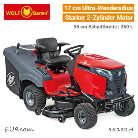 Wolf-Garten Alpha 95.180 H 2-Zylinder V-Twin Bluetooth Expert Rasentraktor EU9