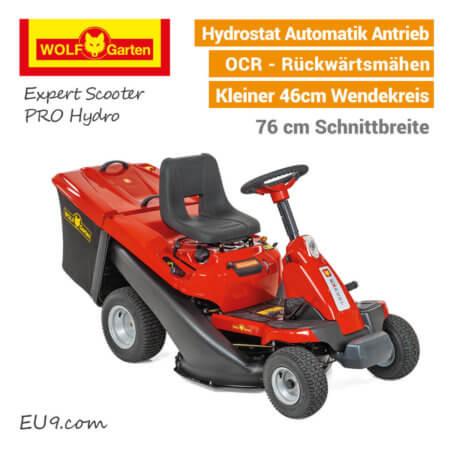 Wolf-Garten Expert Scooter PRO Hydro Aufsitzmäher-Rasentraktor