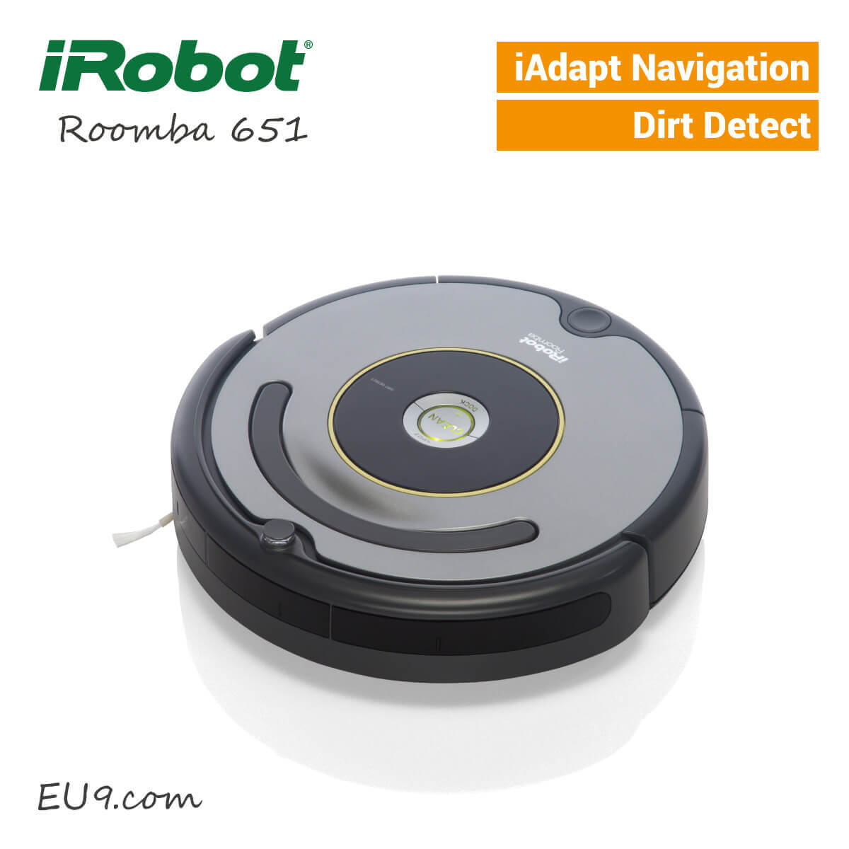 irobot roomba 651 saugroboter eu9 robotics. Black Bedroom Furniture Sets. Home Design Ideas
