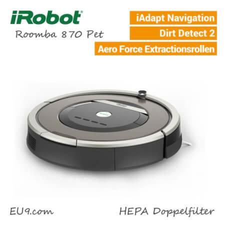 iRobot Roomba 870 Pet Saugroboter