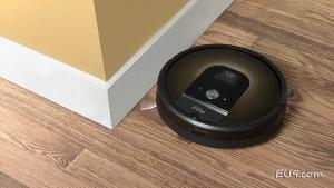 iRobot Roomba 980 Saugroboter Randsaugen